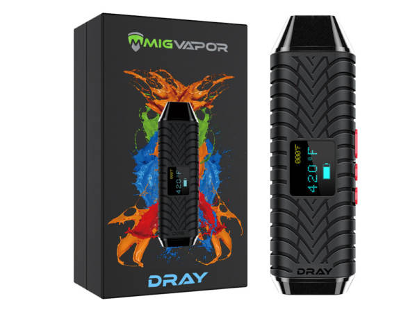 DRAY Dry Herb Vaporizer